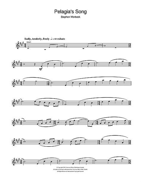 theme music captain corelli s mandolin pelagia s song from captain corelli s mandolin sheet