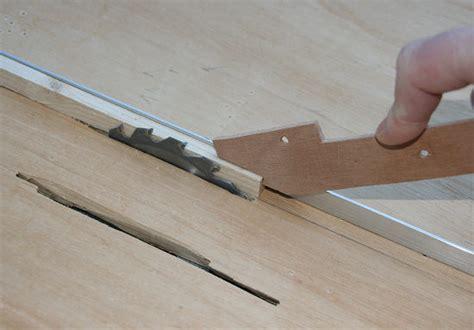 coupes d angles sur scie sur table copain des copeaux