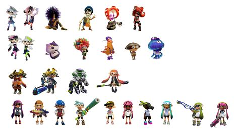 Splatoon Character Icons by SimpleDerk on DeviantArt