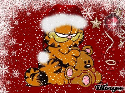 christmas garfield picture  blingeecom