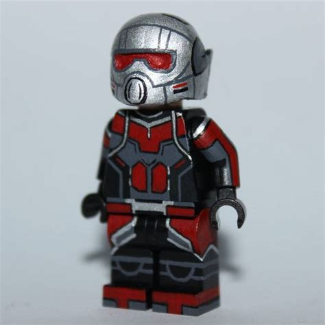 Lego Kw Captain America Civil War Costume Minifigure lego custom minifigures ant and civil wars on
