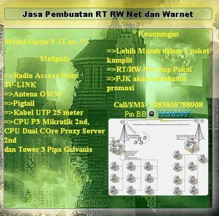 membuka usaha wifi id pjk rtrwnet membuka peluang kerjasama dalam pendirian atau