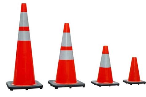 Generic Rubber 70cm Traffic Cone pvc traffic cone