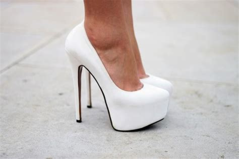 white high heels cheap 2012 white lambskin leather cheap daffoile 160mm pumps
