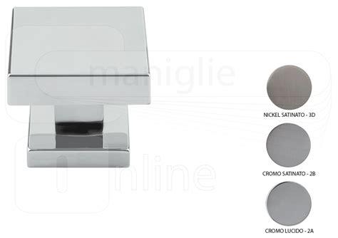 pomelli porte interne pomello quadrato per porta coda fisso misura 60x60 mm