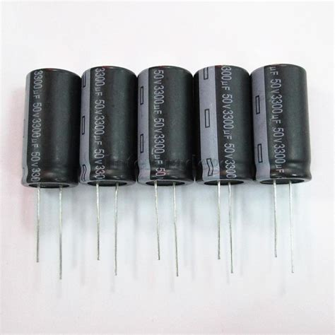 how to build a capacitor with aluminum foil 5pcs 3300uf 50v 36x18mm aluminum foil electrolytic capacitors set ebay