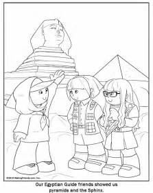 free israelites in the desert coloring pages