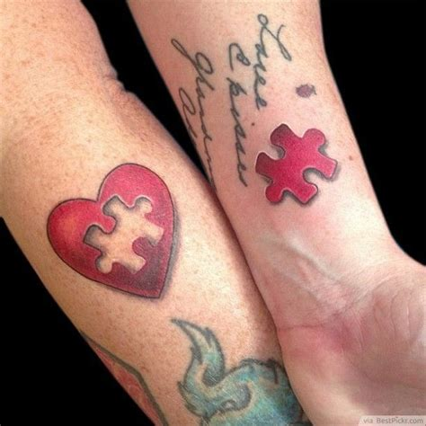 puzzle tattoos for couples 50 best tattoos