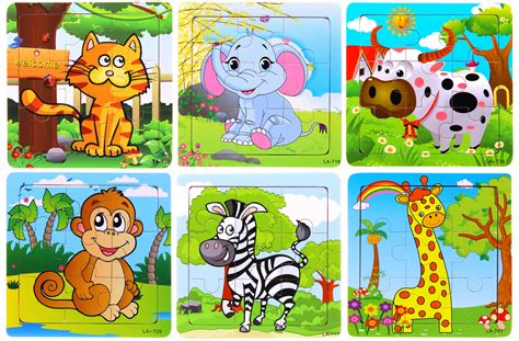 Animal Puzzle animal wooden puzzles for