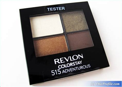 Eyeshadow Revlon Review revlon colorstay adventurous eyeshadow review
