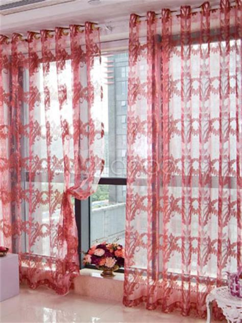 large floral print curtains extra large oriental floral print polyester sheer curtain
