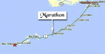 map of marathon key and surrounding areas in the florida