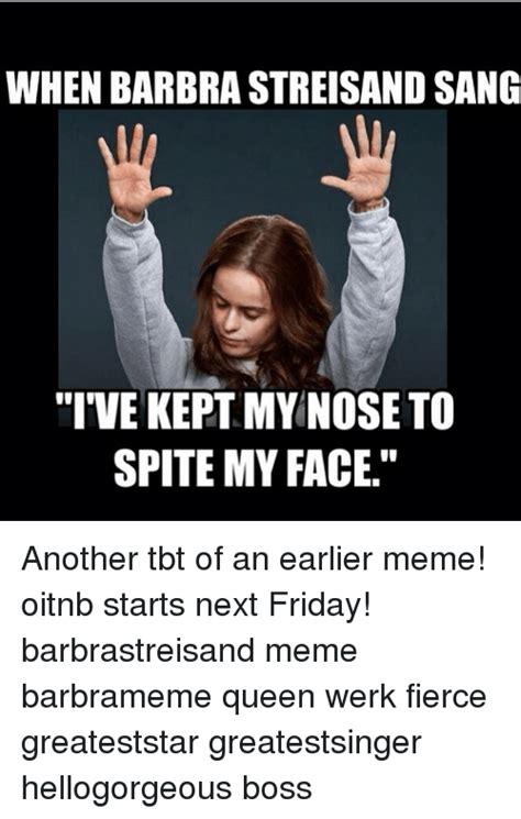 Barbra Streisand Meme - funny barbra streisand memes of 2016 on sizzle prime