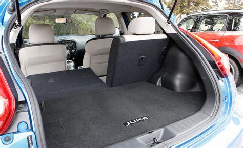 nissan juke interior trunk car and driver