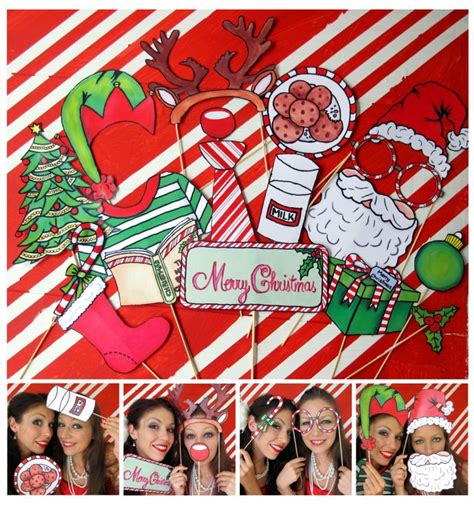 christmas photo booth party ideas pinterest