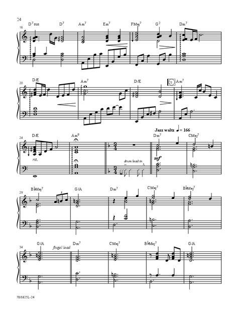 rhythm section instruments sunday evening jazz piano book accompaniment c j w