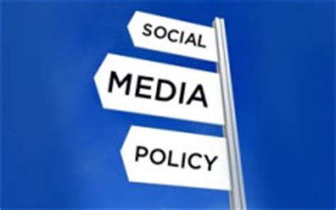 nlrb social media policy template 4 exles of social media policies