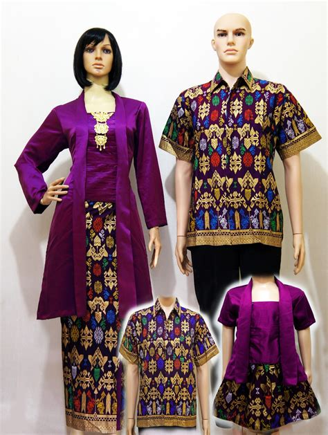 Batik Megasari Kebaya Sarimbit Modern jual batik baju keluarga kebaya sarimbit