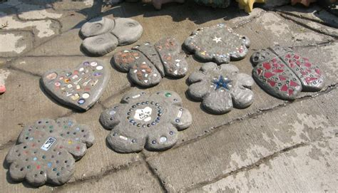 Handmade Stepping Stones - 17 best ideas about stepping stones on