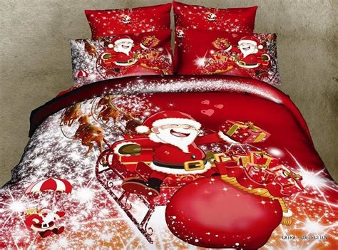 christmas comforter sets queen christmas bedding comforter set santa claus queen size