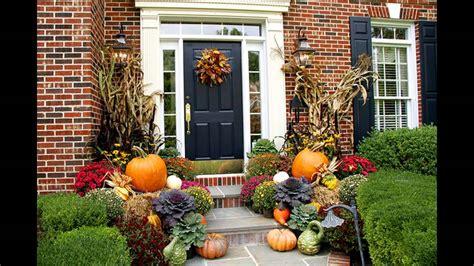 fall planter decorations ideas youtube