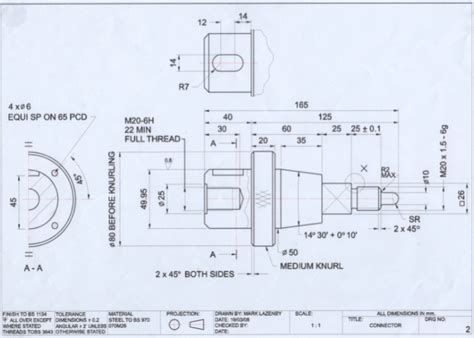 Engineering Drawings   Mark Lazenby   Automotive Design