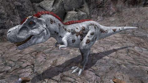 Dino Tirex ark survival evolved dino dossier tyrannosaurus