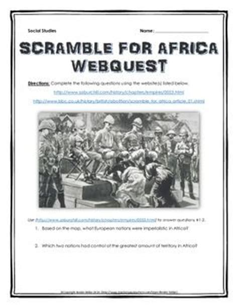 imperialism in africa worksheet africa wedding dj and corporate events on