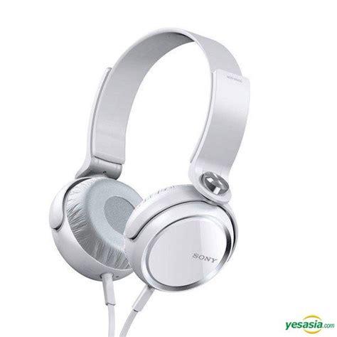 Headphone Hk Bass Yesasia Sony Mdr Xb400 Bass White Headphone