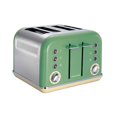 Amazon Com Toasters Morphy Richards 242002 Accents 4 Slice Toaster 1800 Watt