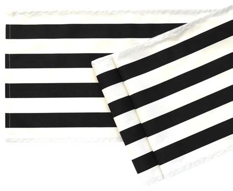 Gray Dining Room Chairs black and white striped table runner 108 quot contemporary