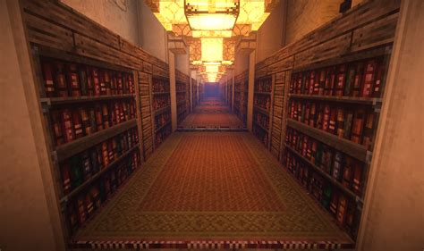 Library Room Ideas a small arabic library minecraft