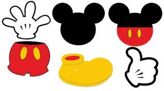 Mickey Mouse Template by Printable Mickey Mouse Ears Template Cliparts Co