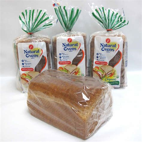 whole grains omega 3 organic wholegrain and flax bread by ovens