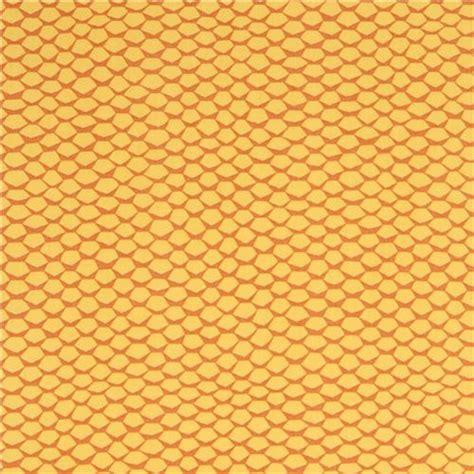 yellow honeycomb pattern marigold yellow brown robert kaufman fabric honeycomb