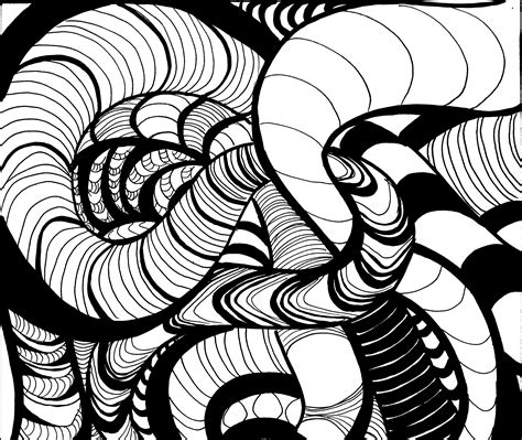 rhythmic pattern drawing interior perspective drawing and composition i
