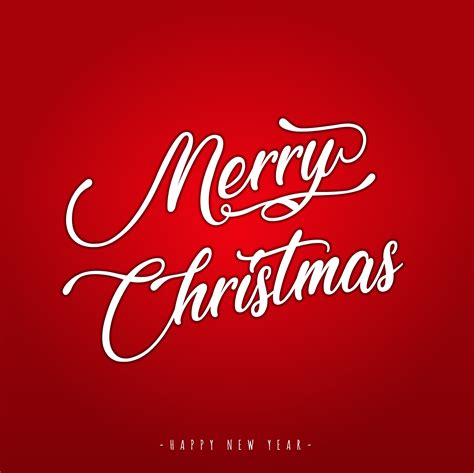 merry christmas lettering greeting card   vectors clipart graphics vector art
