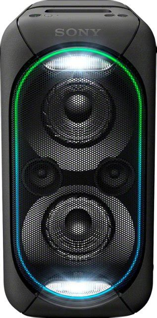 sony light up speaker sony high power xb60 portable bluetooth speaker black
