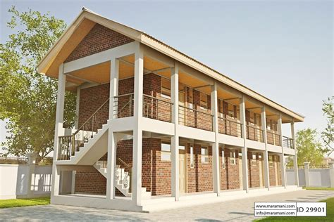 home design id 10 bedroom hostel design id 29901 house plans by maramani