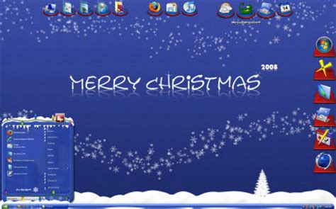 christmas themes for win xp merry christmas themes for windows xp and vista themes