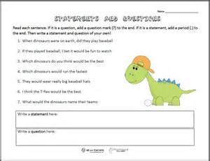 statements questions worksheet squarehead teachers