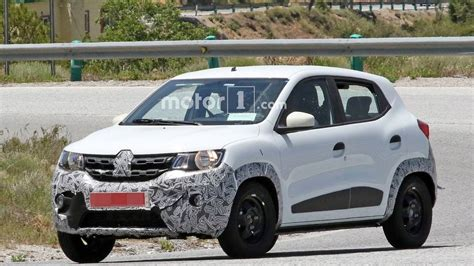 2019 renault kwid 2019 renault kwid facelift spied for the time