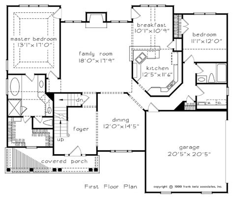 Frank Betz Floor Plans by Hanley Hall House Floor Plan Frank Betz Associates