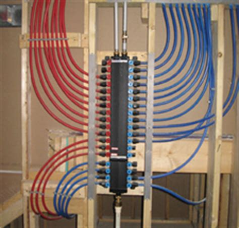 Pex Plumbing Systems by Manifold Help Terry Plumbing Remodel Diy