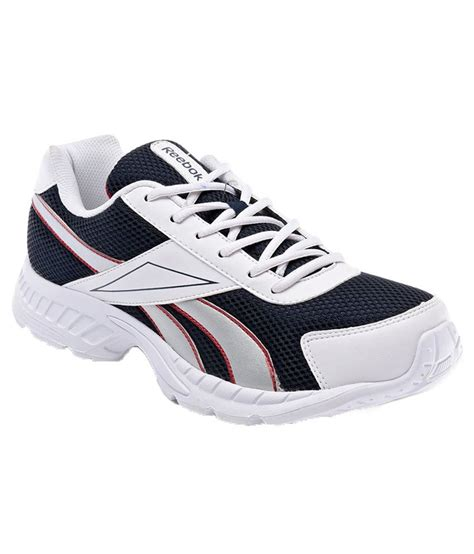 black and white athletic shoes reebok black and white running sports shoes