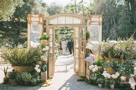 Door Rentals by Socal Rancho Las Lomas Wedding With Sargeant Photography
