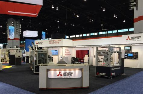 mitsubishi electric automation meau s booth and the automate mitsubishi electric