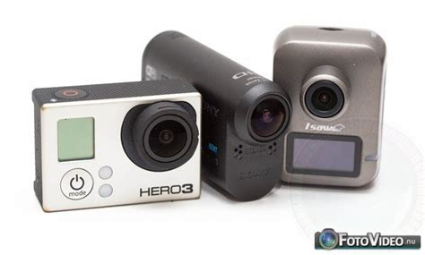 Gopro Sony comparison gopro 3 vs sony actioncam vs isaw a2 ace