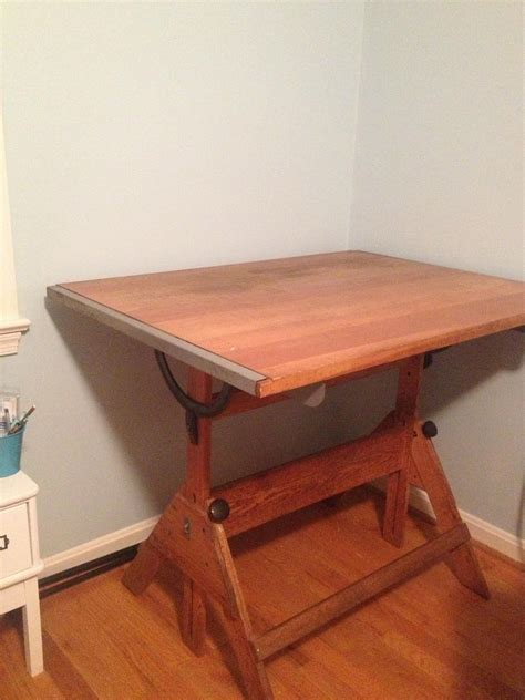 Anco Bilt Drafting Table Thrift Diving Craft Room Vintage Anco Bilt Drafting Table Thrift Diving