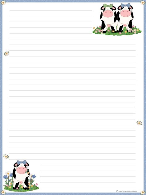 printable animal letterhead teacher notes on pinterest free printable stationery